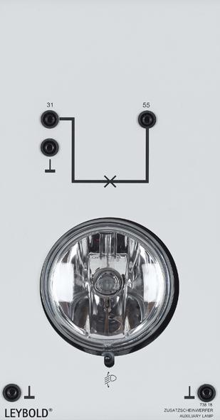 Auxiliary headlamp