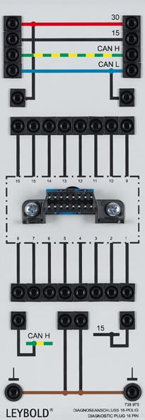 Diagnostic Plug 16 Pin