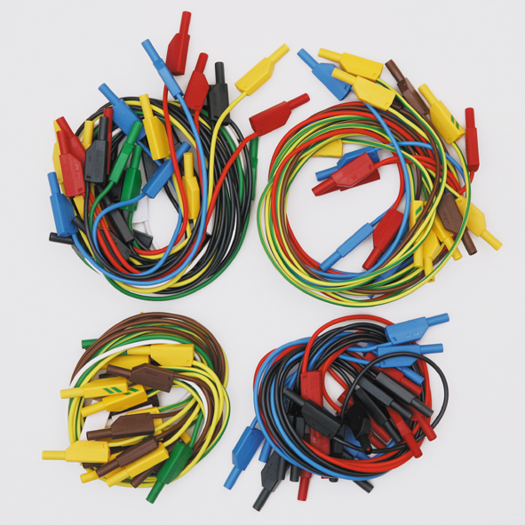 Safety experiment cables, set of 51