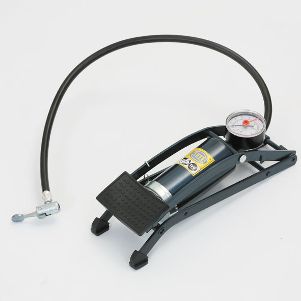 Pressure pump, foot-operated