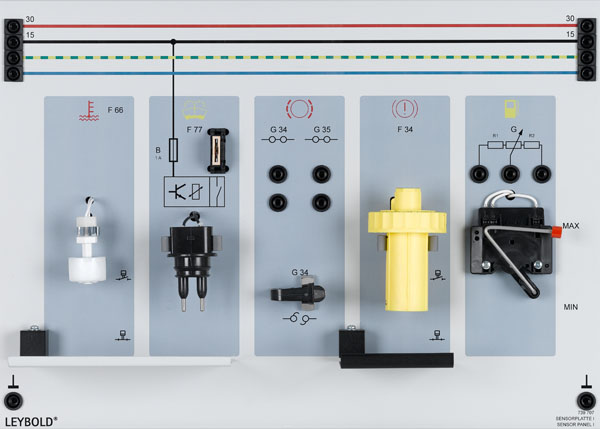 Sensor panel 1
