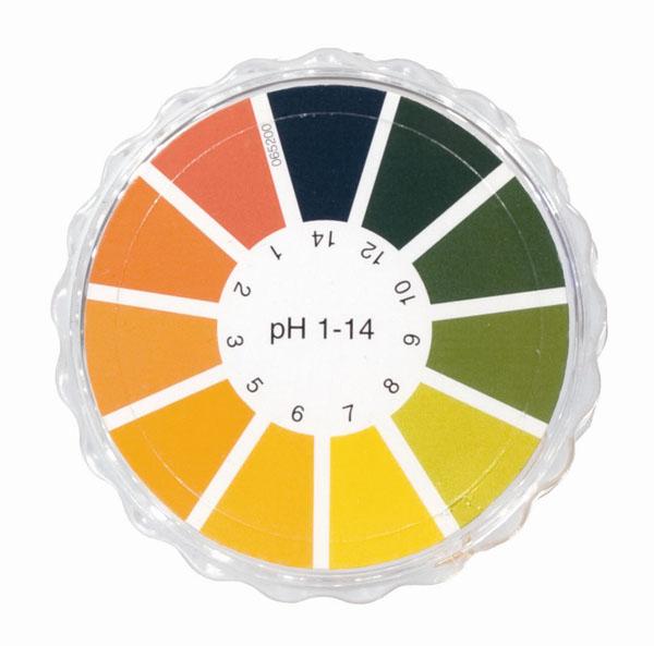 Universal indicator paper pH 1...14, roll
