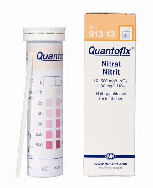 Test sticks Nitrate/Nitrite