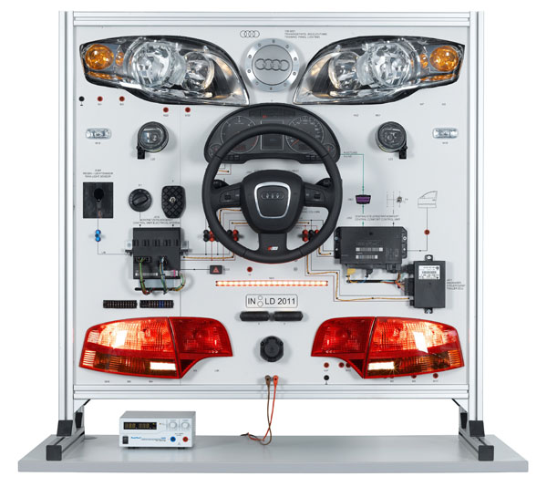 Networking automotive systems: Lighting