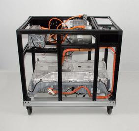 High voltage vehicle engineering