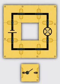 Simple circuit - Assembly using connector blocks
