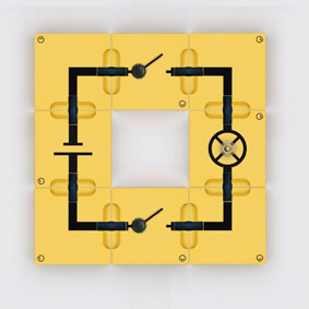 AND circuit - Assembly using connector blocks