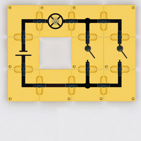 OR circuit - Assembly using connector blocks