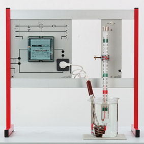 Conversion of electrical energy into thermal energy - Measurement via AC meter
