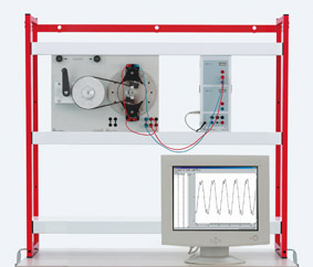Stationary armature generator - Measurement via Sensor-CASSY