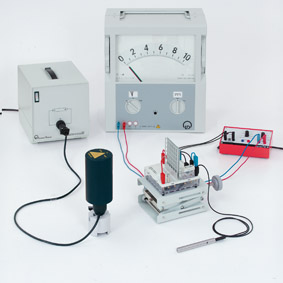 Photoelectric emission - Electrometer amplifier