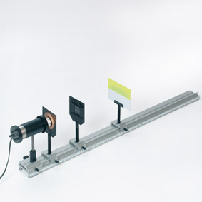 Detection of ultraviolet radiation – Set-up with an ultraviolet phosphorescent screen