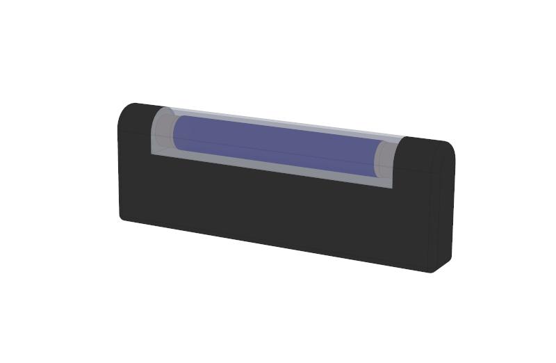 Transmission path when shaking hands using UV light