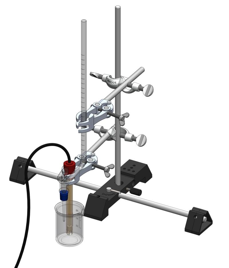Recording a titration curve - Digital