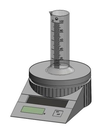 Determining the density of liquids