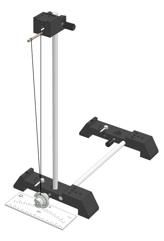 Thread pendulum (mathematical pendulum)
