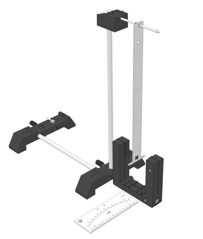 Bar pendulum (physical pendulum) - Digital