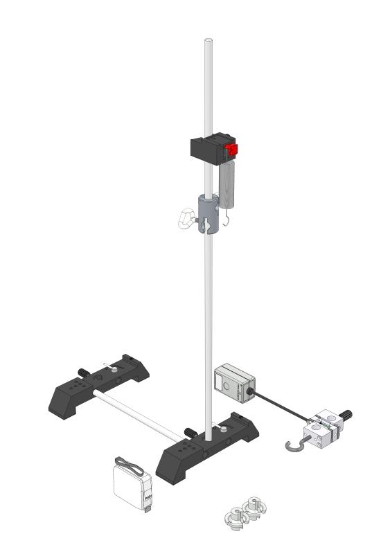 Helical spring pendulum - Digital