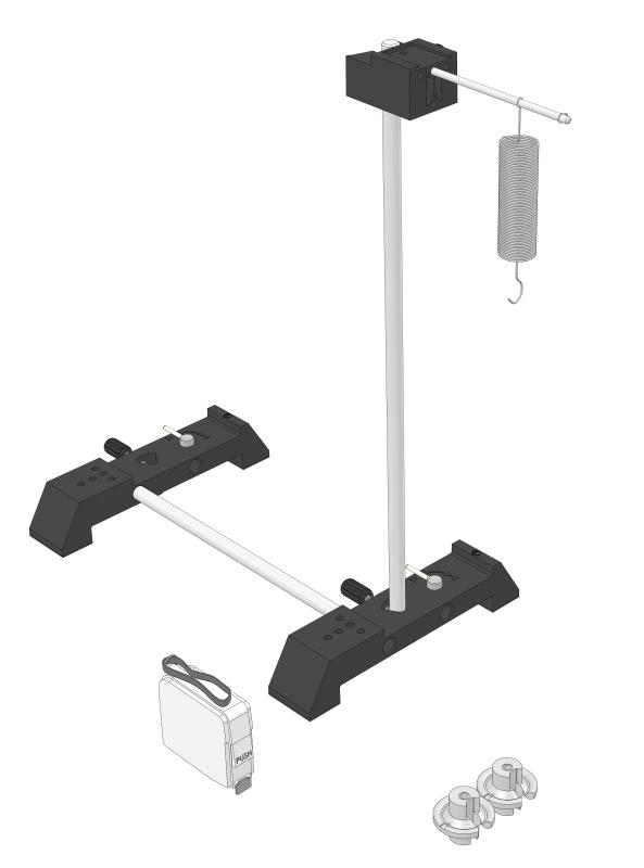 Helical spring pendulum
