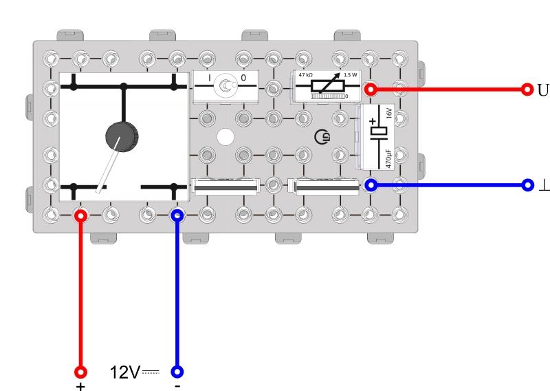 Capacitors in a DC circuit - Digital