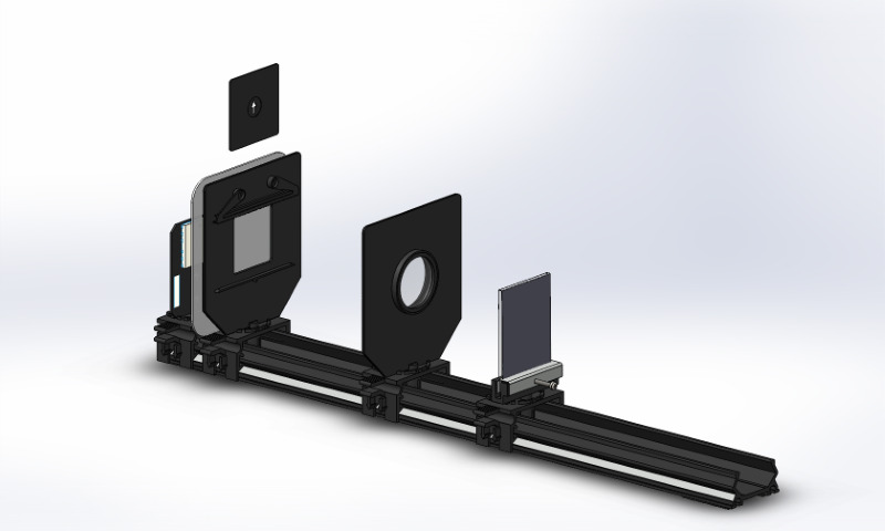Focal length determination of a convex lens via autocollimation