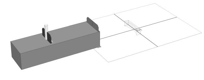 Optical path of a bi-concave lens