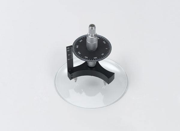 Using a spherometer to determine bending radii