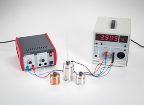 Converting electrical energy into heat energy - Measuring with the joule and wattmeter