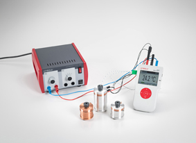 Converting electrical energy into heat energy - Measuring with Mobile-CASSY