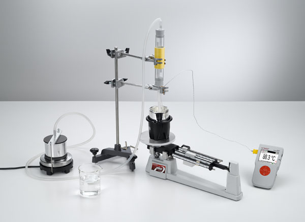 Determination of specific vaporization heat of water - Measuring with Mobile-CASSY