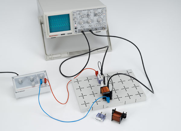 Determining the inductive reactance of a coil in an AC circuit