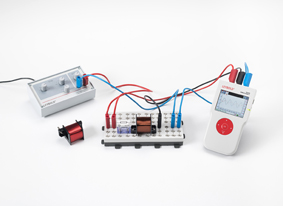 Determining the impedance in circuits with coils and ohmic resistors - Measuring with Mobile-CASSY