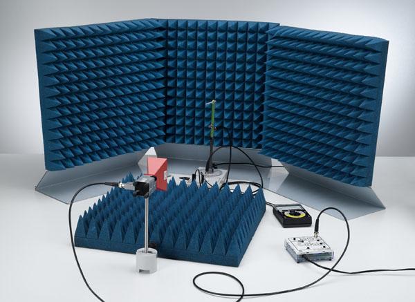 Directional characteristic of a Yagi antenna - Recording measured values manually