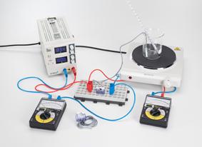 Measuring the temperature-dependancy of PTC and NTC resistors