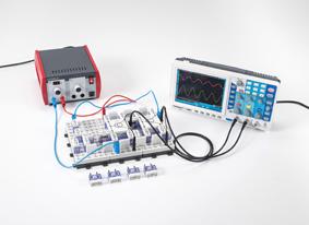 The transistor as a sine-wave generator (oscillator)
