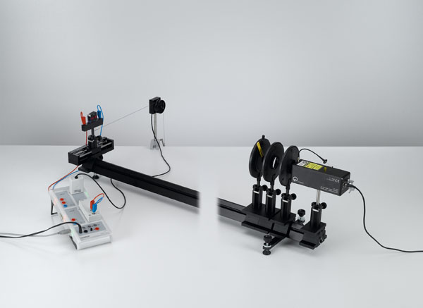 Diffraction at a double slit and multiple slits - Recording and evaluating with CASSY