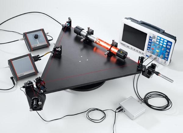 HeNe laser gyroscope