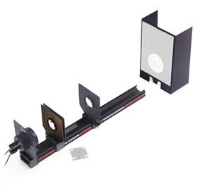 Geometrical optics on the precision metal rail