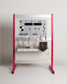 Recording characteristics of a Daniell element with the electrochemistry demonstration unit