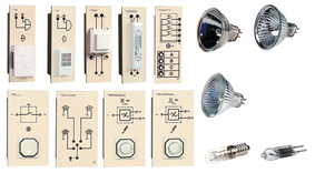 TG 4.120 Switching and dimming filament and halogen lamps, supplementary set